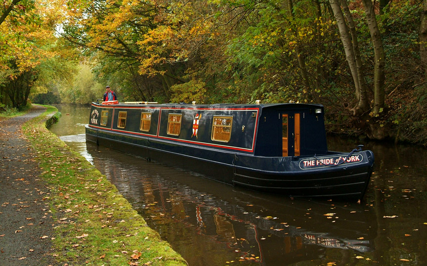 Narrow Boats England